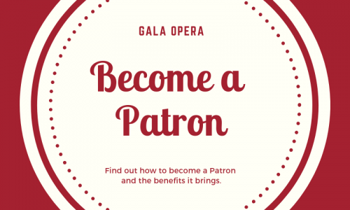 From as little as £5, you can become a patron of GAOS.