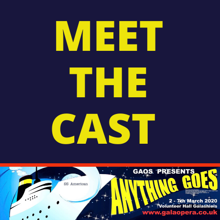Meet your cast of Anything Goes